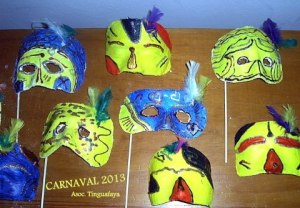 Carnaval 2013. Imagen: Asociación Tinguafaya.