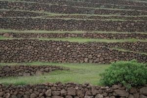 Muros en la agricultura de Lanzarote