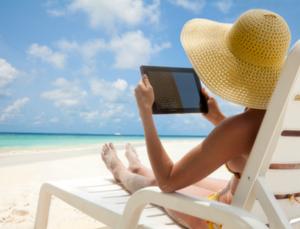 vacaciones conectadas, smartphones y dispositivos móviles