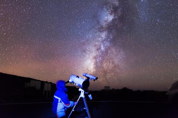 observación astronómica La Palma, Canarias