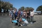 Parte del grupo de empresarios y empresarias de la campaña de limpieza