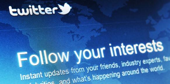 Twitter follow your interest