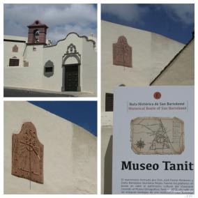 Reloj solar del Museo Etnográfico Tanit. San Bartolomé