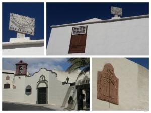 Reloj solares en Lanzarote